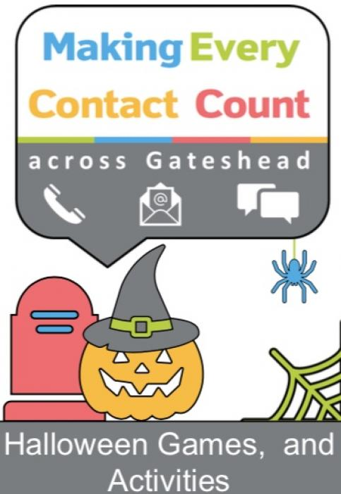 Cover of halloween activity book