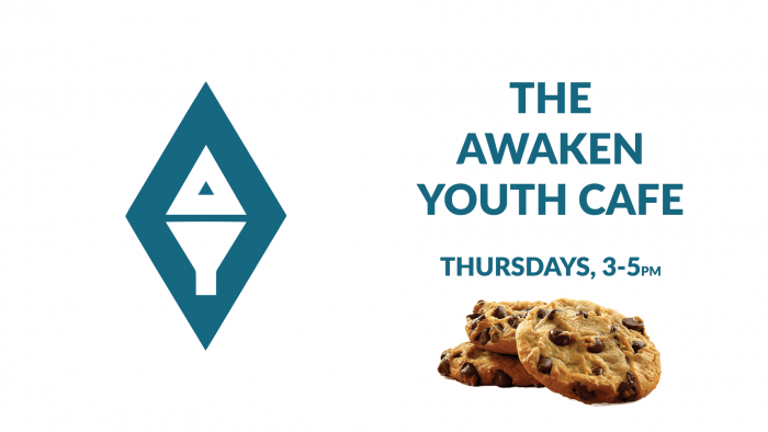 The Awaken Youth Café poster