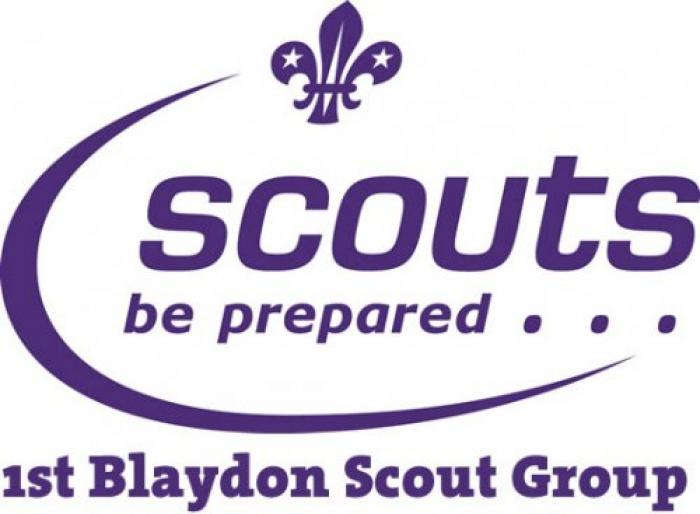 1st Blaydon Scout Group Logo