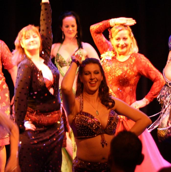 Bellydancing with Claire