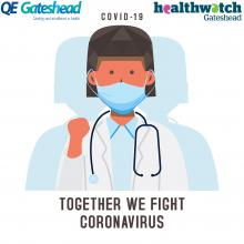 Together we can fight coronavirus