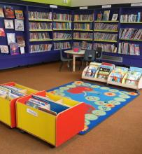 The children's area of the library