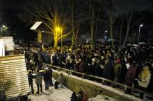 Carols Outside The Old Cross
