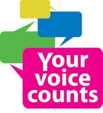 Your Voice Counts Logo